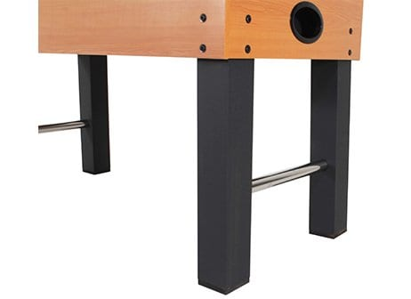 American Legend Charger Foosball Table Leg View