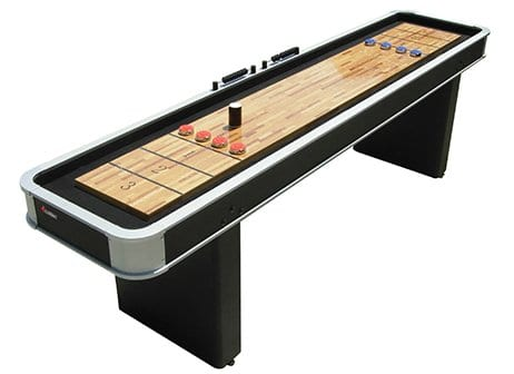 Atomic 9 Platinum Shuffleboard Table Full View