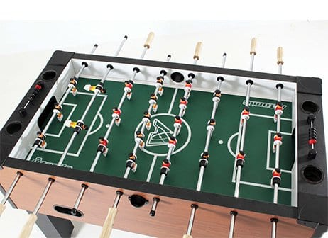 Atomic Gladiator Foosball Table Top View