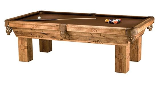 Azteca Pool Table