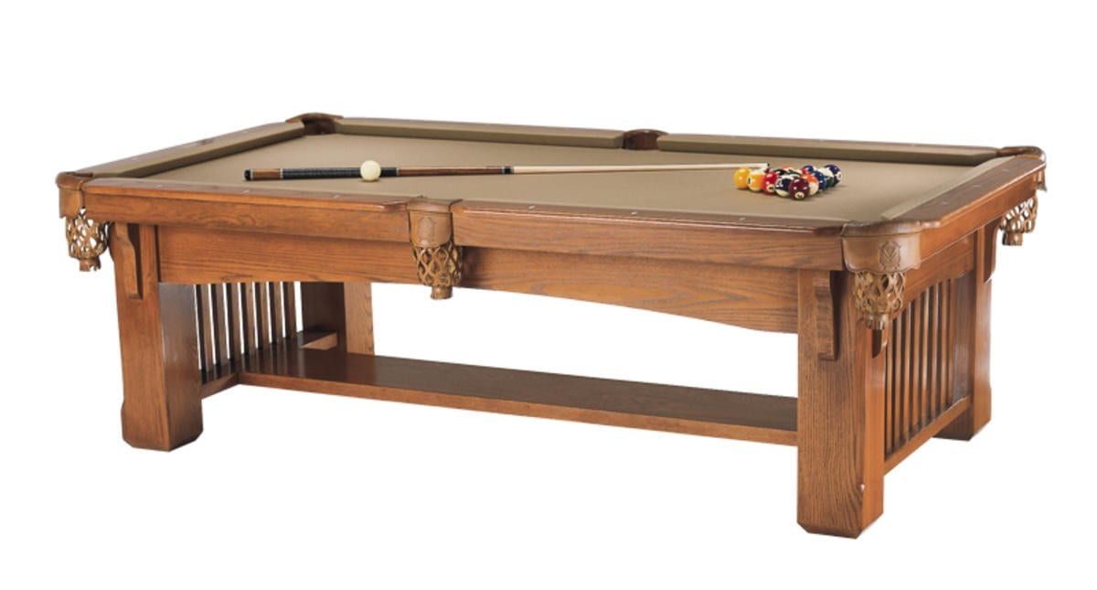 Franciscan Mission pool table