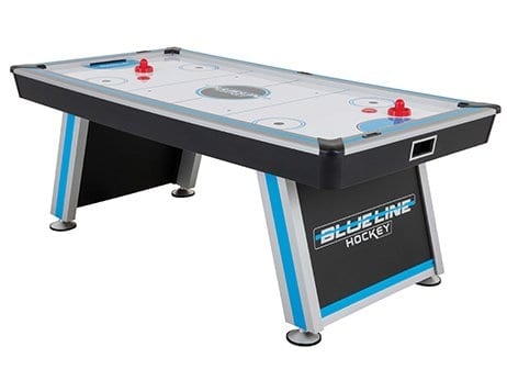 Triumph Blue Line Air Hockey Table Full View