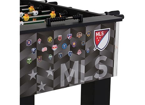 Triumph MLS Foosball Table End View