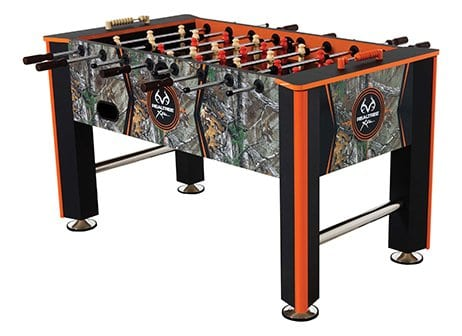 Triumph Real Tree Foosball Full View