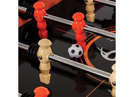 Triumph Real Tree Foosball Top Detail View