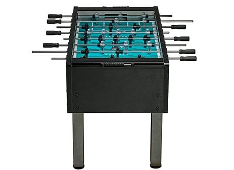 Velocity Black Foosball Table Front View