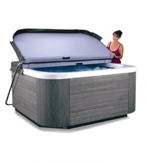 e-z lifter for hot tub